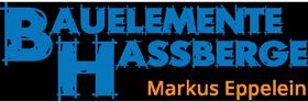 Bauelemente Haßberge Logo